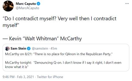 McCarthy Contradiction